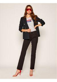 Tommy Jeans T-Shirt Tjw Mirror Logo Tee DW0DW08050 Szary Slim Fit. Kolor: szary