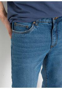 """Dżinsy 3/4 ze stretchem Classic Fit Straight bonprix niebieski """"stone"""". Kolor: niebieski"""