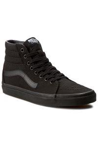 Vans - Sneakersy VANS - Sk8-Hi VN000TS9BJ4 Black/Black/Black. Kolor: czarny. Materiał: skóra ekologiczna, materiał. Szerokość cholewki: normalna. Model: Vans SK8