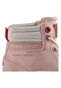 Cross Jeans - Botki CROSS JEANS EE2R4004C J.Róż. Kolor: różowy