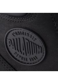 Czarne trapery Palladium z cholewką, sportowe