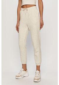 Szare spodnie dresowe only