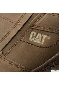 CATerpillar - Półbuty CATERPILLAR - Opine P722314 Dark Beige. Okazja: na co dzień. Kolor: brązowy. Materiał: skóra, nubuk, materiał. Szerokość cholewki: normalna. Styl: elegancki, casual #5
