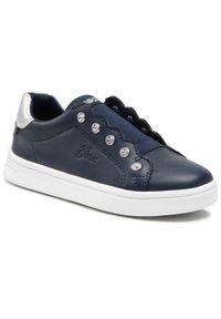 Geox Sneakersy J Djrock G. A J154MA 000BC C4002 S Granatowy. Kolor: niebieski