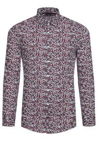 Tommy Hilfiger Tailored Koszula Floral Print MW0MW16465 Kolorowy Regular Fit. Wzór: kolorowy, nadruk