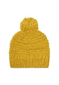 Żółta czapka zimowa Barts