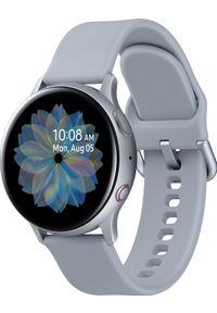 SAMSUNG - Smartwatch Samsung Galaxy Watch Active Silver Alu 2 Szary (SM-R835FZSADBT). Rodzaj zegarka: smartwatch. Kolor: szary