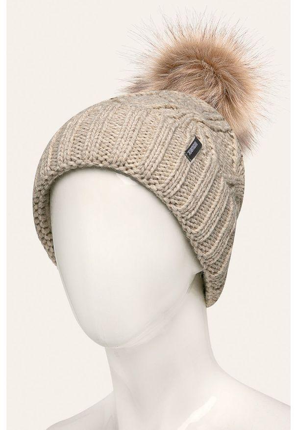 Beżowa czapka Answear Lab