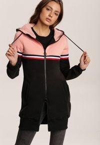 Renee - Różowa Bluza Holone. Kolor: różowy
