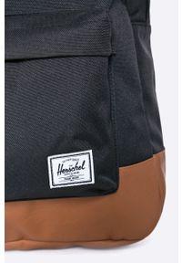 Herschel - Plecak. Kolor: czarny. Wzór: paski