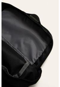 Reebok - Plecak. Kolor: czarny. Materiał: materiał, poliester. Wzór: nadruk, gładki, paski #2