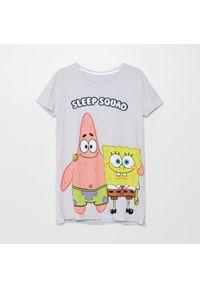 Cropp - Koszula nocna Spongebob - Fioletowy. Kolor: fioletowy