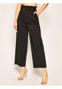 Czarne spodnie materiałowe Patrizia Pepe