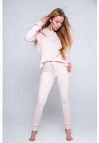 Sensis - Piżama Dolce Vita. Kolor: różowy. Długość: długie