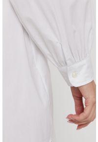 Samsoe & Samsoe - Samsoe Samsoe - Sukienka. Okazja: na co dzień. Kolor: biały. Materiał: tkanina. Długość rękawa: długi rękaw. Wzór: gładki. Typ sukienki: proste. Styl: casual #2