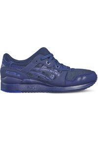 Niebieskie sneakersy Asics lifestyle w kolorowe wzory, Asics Gel Lyte