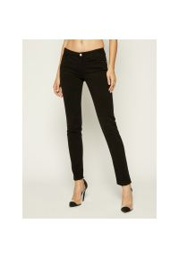 Czarne jeansy slim Emporio Armani