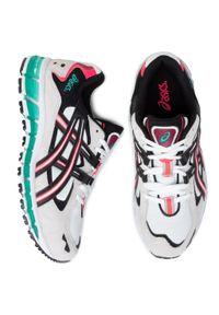 Beżowe buty sportowe Asics Asics Gel Kayano, z cholewką, na co dzień