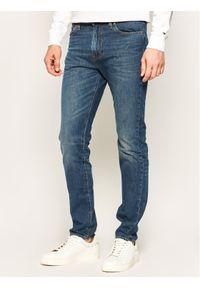 Levi's® Jeansy 510™ 05510-1035 Granatowy Skinny Fit. Kolor: niebieski. Materiał: jeans