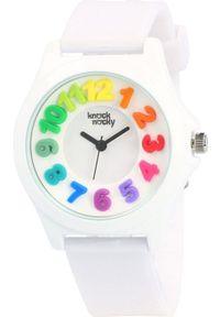 Biały zegarek Knock Nocky