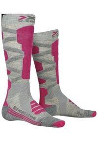 X-Socks skarpety narciarskie damskie Ski merino. Sport: narciarstwo