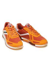 Scotch & Soda Sneakersy Vivex 22837774 Pomarańczowy. Kolor: pomarańczowy