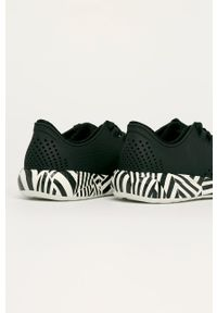 Czarne sneakersy Crocs z okrągłym noskiem, z cholewką
