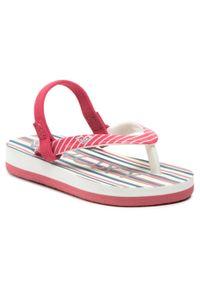 Różowe sandały Roxy