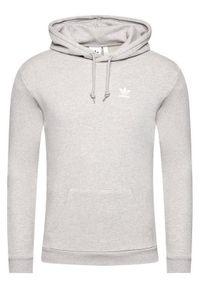 Adidas - adidas Bluza Essential Hoody FM9958 Szary Standard Fit. Kolor: szary