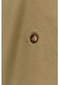 Brązowy płaszcz Haily's casualowy, na co dzień, bez kaptura