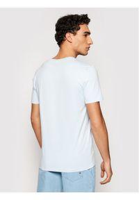 Marc O'Polo T-Shirt 123 2220 51230 Niebieski Regular Fit. Typ kołnierza: polo. Kolor: niebieski