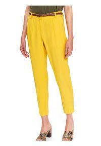 Żółte spodnie TOP SECRET