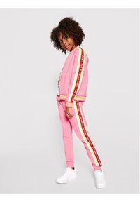 Little Marc Jacobs Spodnie dresowe W14264 S Różowy Regular Fit. Kolor: różowy. Materiał: dresówka