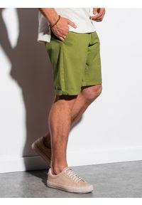 Zielone szorty Ombre Clothing casualowe, na co dzień