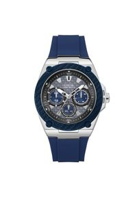 Niebieski zegarek Guess #3