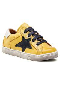 Froddo Sneakersy G3130162-4 M Żółty. Kolor: żółty