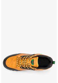 Badoxx - Camelowe buty trekkingowe sznurowane badoxx mxc8229. Kolor: brązowy