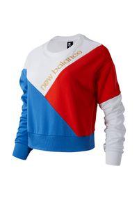 Bluza New Balance casualowa, długa, na co dzień, z długim rękawem