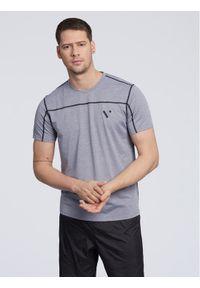 Vistula T-Shirt Powell XA1108 Szary Loose Fit. Kolor: szary