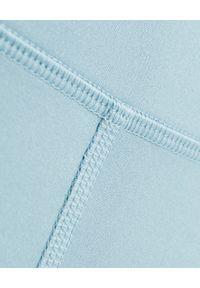 GIRLFRIEND COLLECTIVE - Niebieskie leginsy Sky Long. Stan: podwyższony. Kolor: niebieski. Materiał: tkanina. Długość: długie