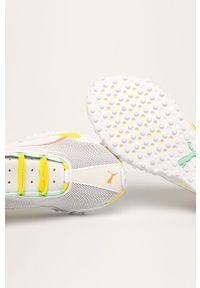 Wielokolorowe buty sportowe Puma z cholewką, na średnim obcasie, na obcasie, na sznurówki