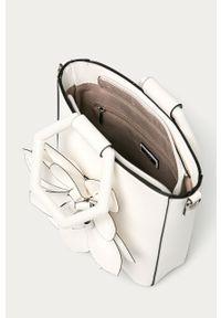 Biała torebka Aldo z aplikacjami, mała, z aplikacjami, skórzana #6