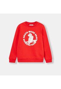 Czerwona bluza Sinsay #1