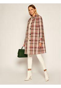 Płaszcz przejściowy TOMMY HILFIGER w kolorowe wzory