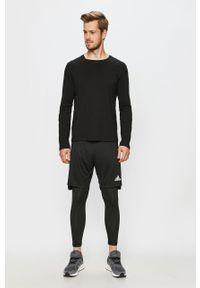 Czarne spodnie dresowe adidas Performance #4