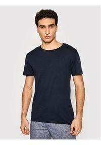 Jack&Jones PREMIUM T-Shirt Bluvance 12185027 Granatowy Regular Fit. Kolor: niebieski