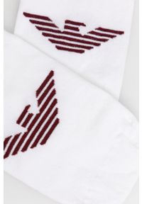 Emporio Armani Underwear - Skarpetki. Kolor: biały