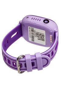 Smartwatch GARETT Kids Happy Fioletowy. Rodzaj zegarka: smartwatch. Kolor: fioletowy