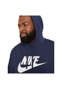 Bluza męska Nike Sportswear Club Fleece BV2973. Typ kołnierza: kaptur. Materiał: bawełna, poliester