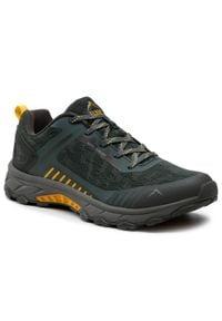 Zielone buty trekkingowe Elbrus trekkingowe